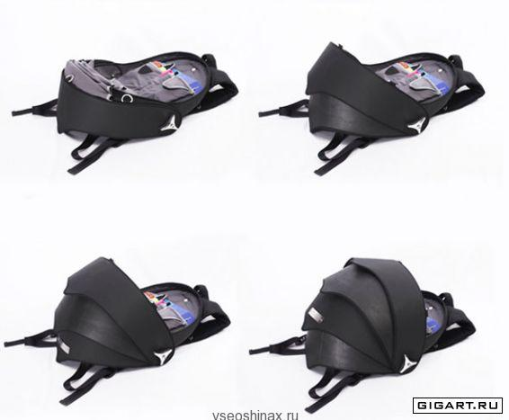 рюкзак из покрышек