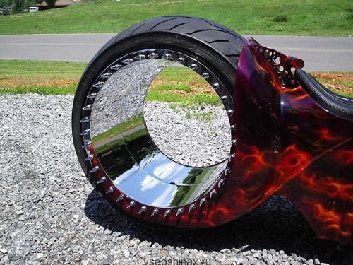 необычные шины