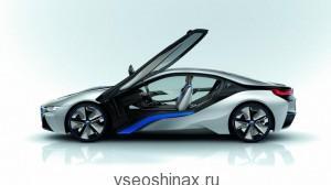На новый  BMW i8 поставят шины Bridgestone
