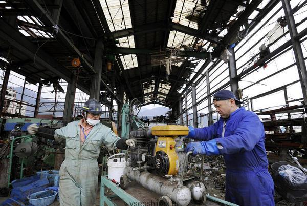 Шинные заводы Японии