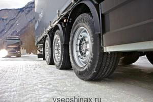 Новые грузовые шины низкопрофильного типа
