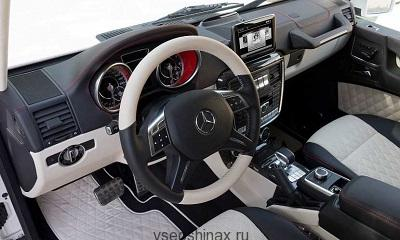 Салон Mercedes G63 AMG