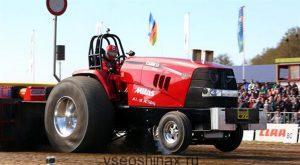Новые шины для гоночных тракторов!