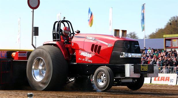 Mitas Powerpull для гоночных тракторов