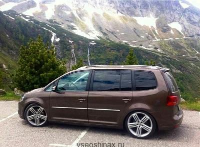 Volkswagen Touran будет идти с шинами Falken