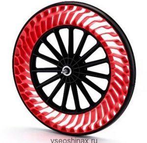 Безвоздушные шины для велосипедов