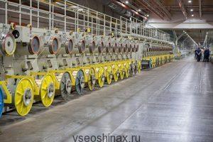 Новая производственная линию в Липецке