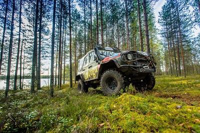 Новые шины для УАЗ