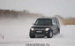 Владельцы Mitsubishi выбирают шипованные шины