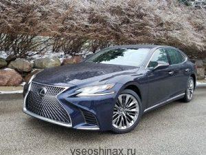Lexus из-за проблем с шинами отзывает автомобили в России