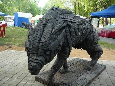 Волк из шин Златоуст