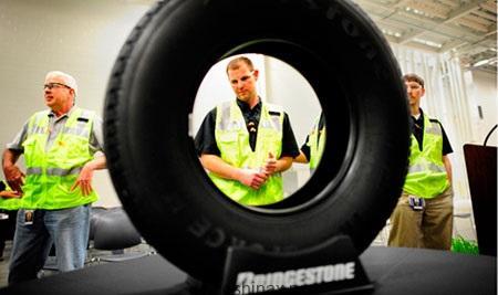 Завод Bridgestone вдвое снизит производство