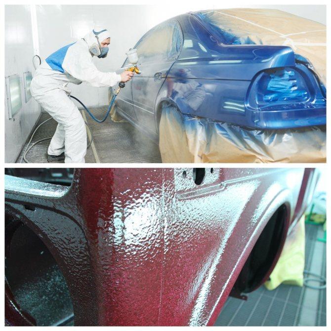 Как покрасить свою машину. Как подготовить место для покраски.