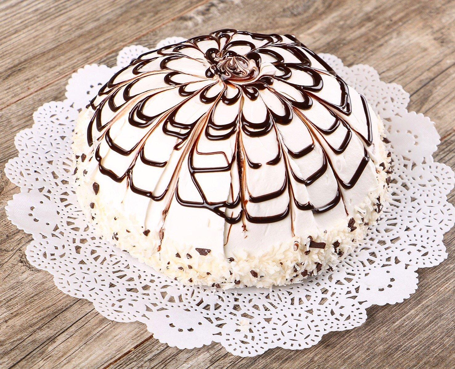 Торт Пинчер с фруктами
